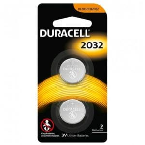 Duracell 3.0v Lithium Coin 2032 2 Pack