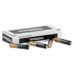 Duracell Coppertop Aaa Box 24