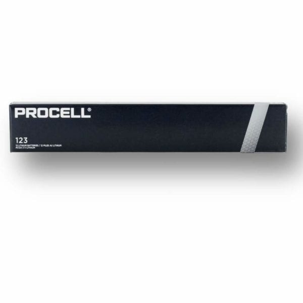 Procell Lithium 123 12
