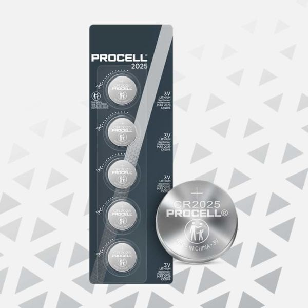Procell Lithium Coin 2025 5