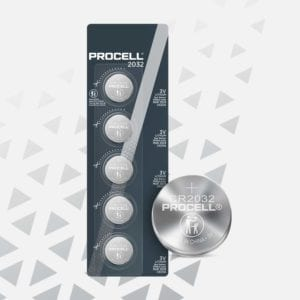 Procell Lithium Coin 2032 5